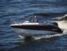 New Shark DC 580 from Silverboats Finnland